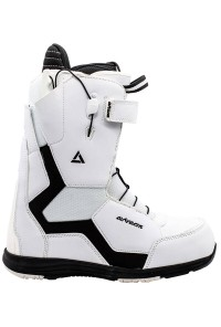 Snowboard Boots Strong Quick Lace White
