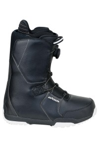 Snowboard Boots Savage Black Atop Speed Lacing