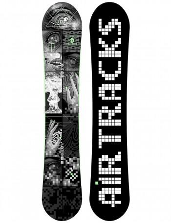 Pixel Bomb Carbon Zero Rocker Snowboard