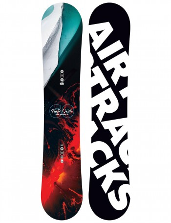 North South Four Snowboard Wide Camber