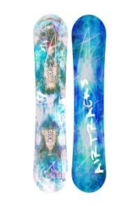 Lady Snowboard Glam Zero Rocker Freeride / Freestyle