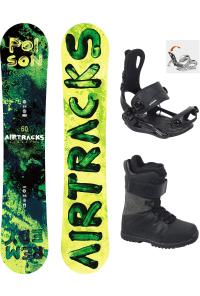 Snowboard Set Poison Rocker