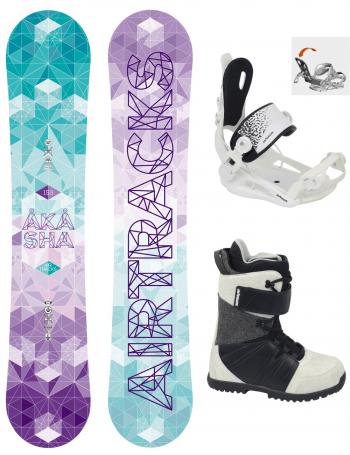 Damen Snowboard Set Akasha Rocker