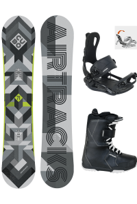 Snowboard Set Cubo Wide