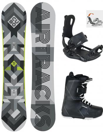 Snowboard Set Cubo Wide