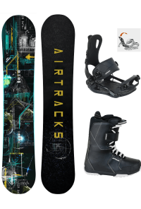 Snowboard Set Data Zero Rocker