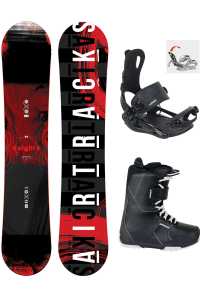 Snowboard Set Eight Hybrid Rocker