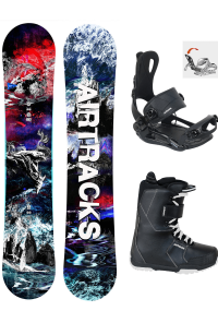 Snowboard Set Fantasy Carbon Zero Rocker