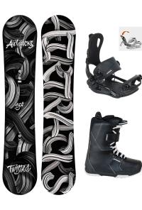 Twisted Snowboard Wide Zero Rocker