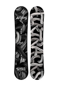 Twisted Snowboard Zero Rocker Wide