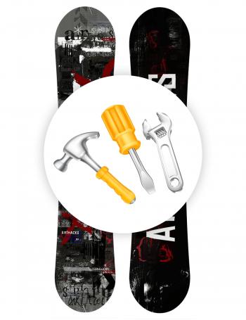 New snowboard service