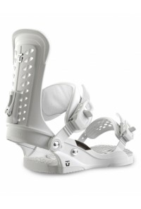 Snowboard Binding Union Force White