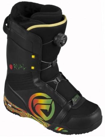 Snowboard boots flow rival coiler rasta