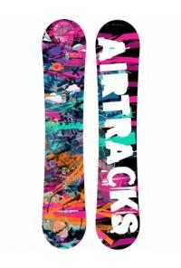 Lady Snowboard Graffiti Rocker