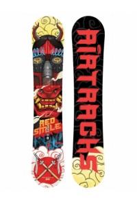 Red Smile Snowboard Rocker Wide