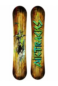 Wild Snowboard Flat Rocker Wide