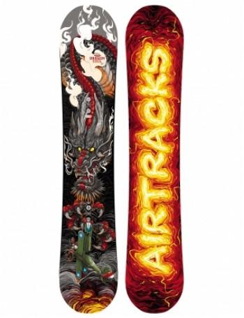 Dragon Soul Snowboard Rocker Carbon