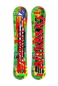 One Line Snowboard Rocker