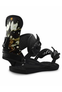 Snowboard Binding Union Milan Black